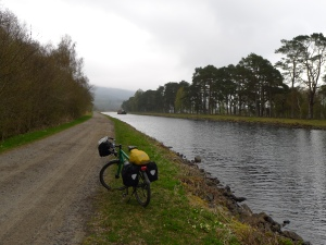 radweg am caledonian canal
