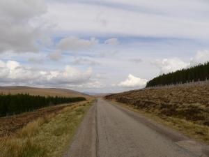 beginn einer tollen, fast 15 km langen abfahrt...