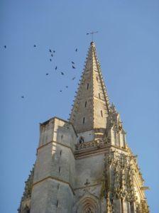 Kirchturm von Marennes