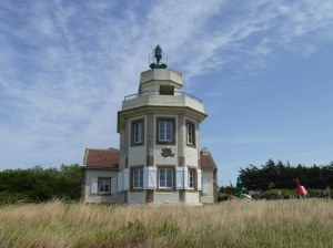 Leuchtturm bei Pointe de St-Gildas