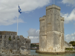 Der Hafen von La Rochelle