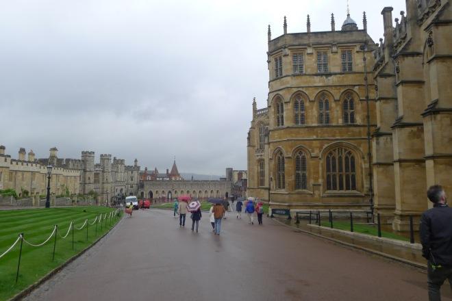 ... besichtigt man Windsor Castle...